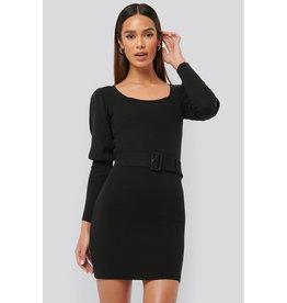 NA-KD NA-KD Puff sleeve dress