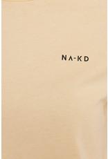 NA-KD NA-KD basic logo tshirt