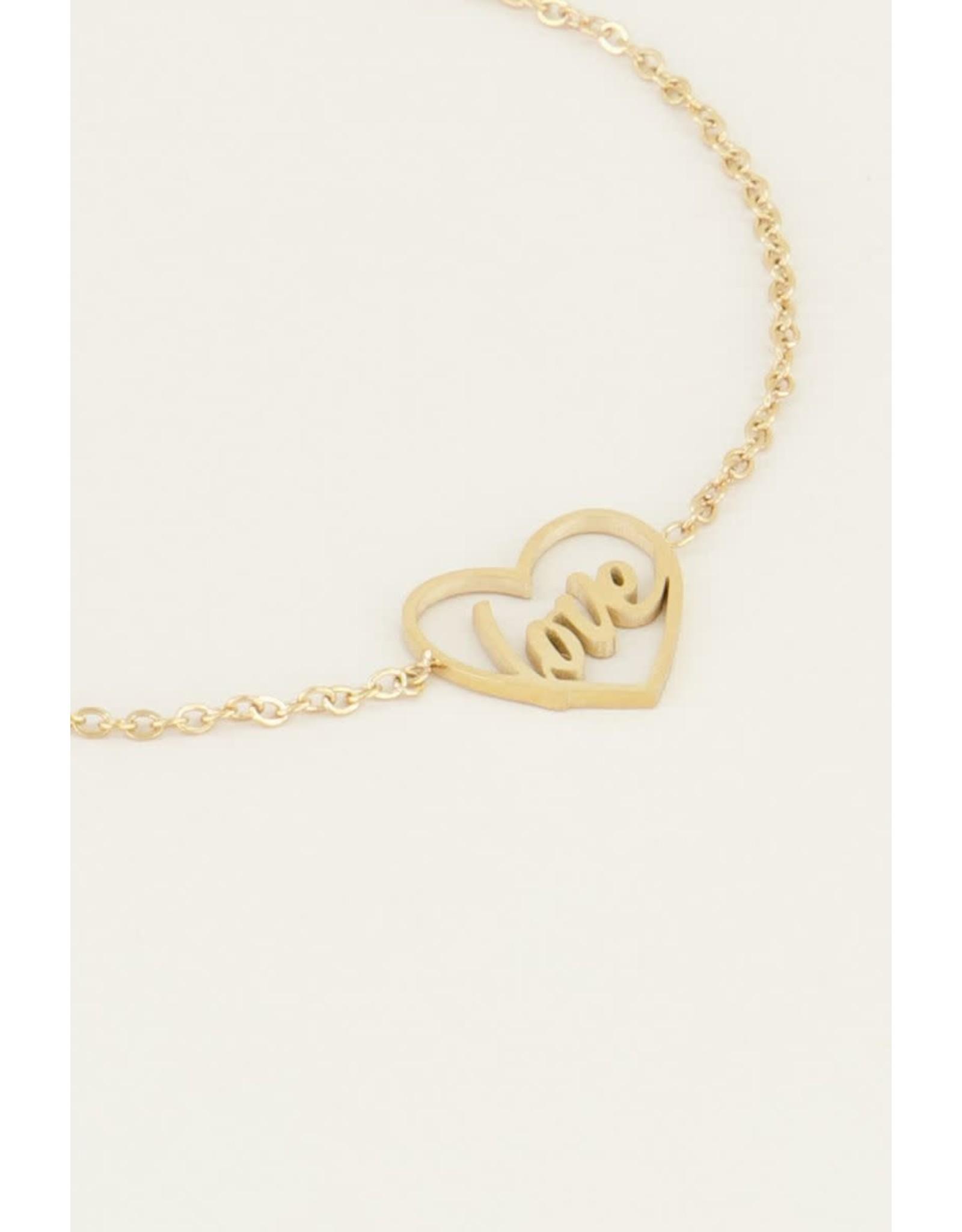 My Jewellery Moments bracelet love