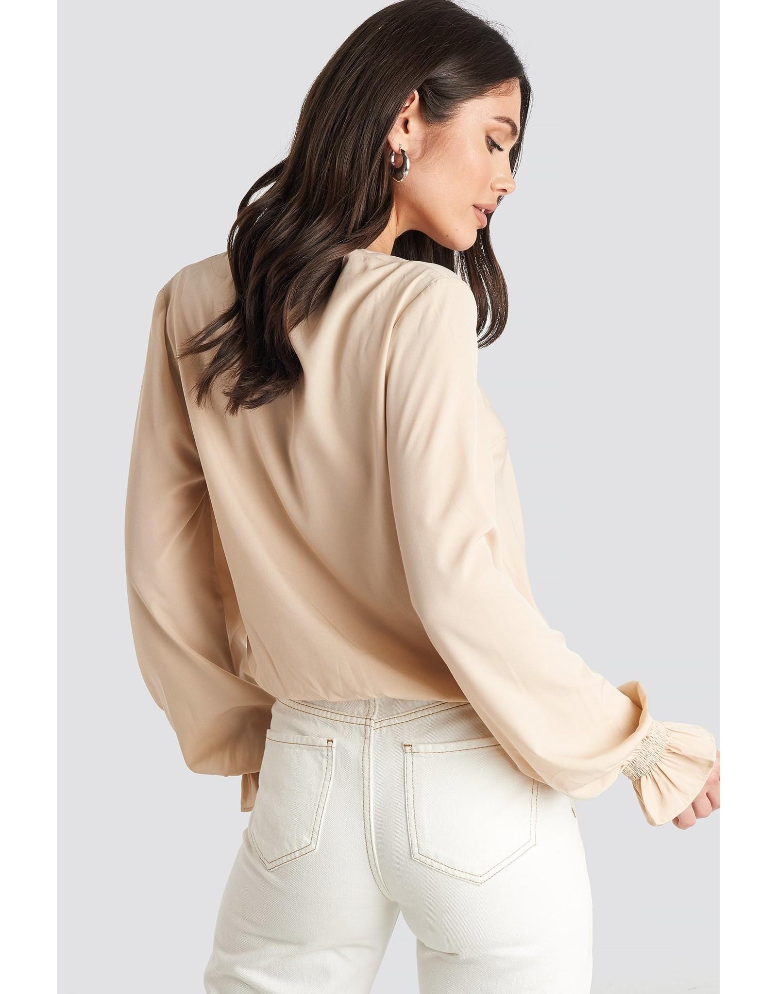 NA-KD NA-KD wrap over blouse