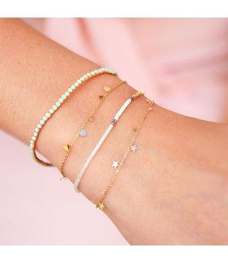 Armband kleine sterretjes