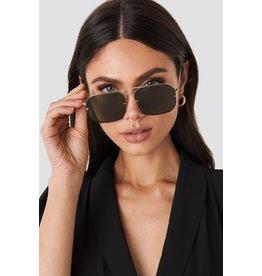 NA-KD NA-KD sunglasses black