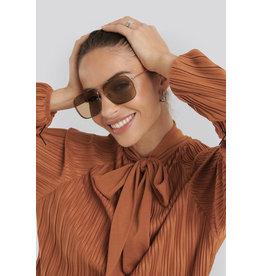 NA-KD sunglasses brown