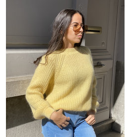 She's Milano x cozy up soft yellow