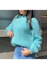 She's Milano x cozy up aqua blue