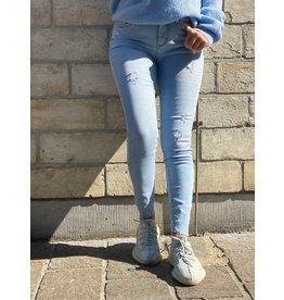 Light high waist jeans