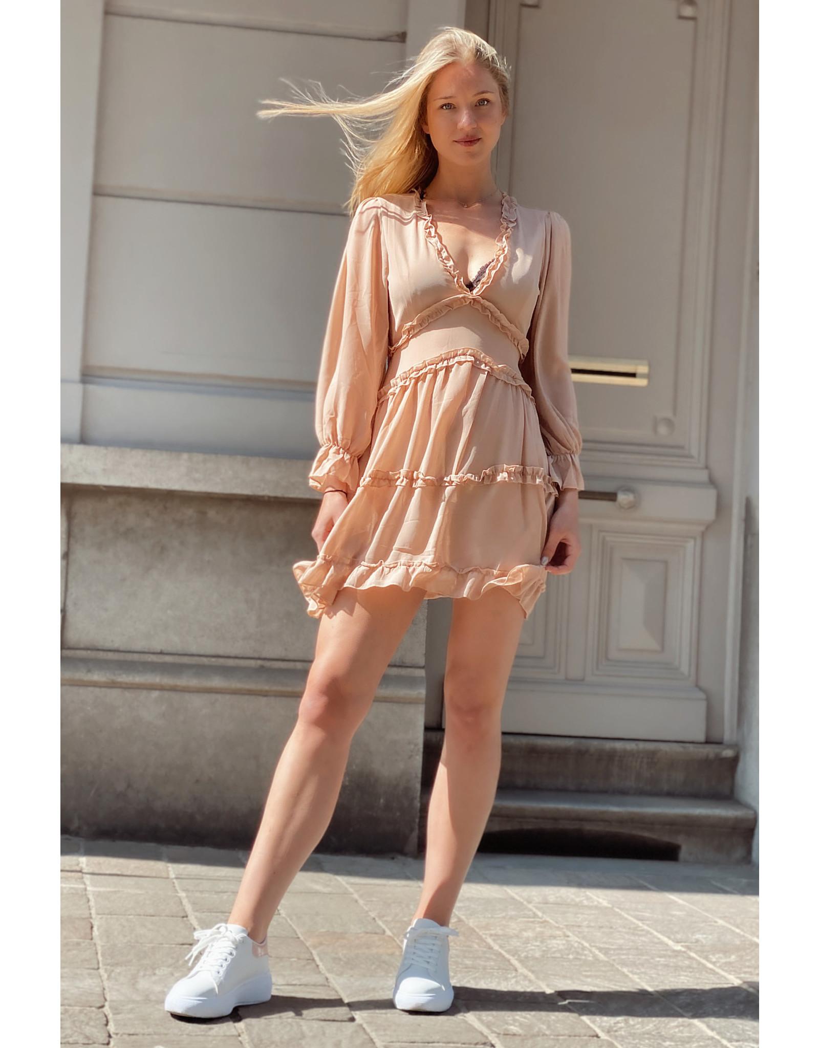 Paris Cute Nude Dress