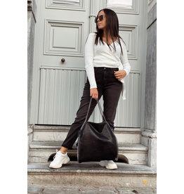 Paris Black Mom Jeans