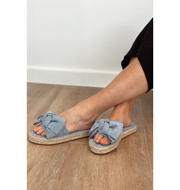 Bestelle Blue Bow Slipper