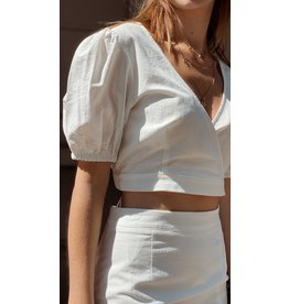 Eight Paris Romantic White Top