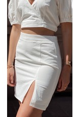 Eight Paris Romantic White Skirt