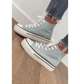 Bestelle BabyBlue High Sneakers