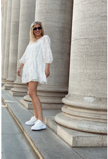 Kilky Lace dress white