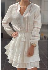 Soft white cute dress