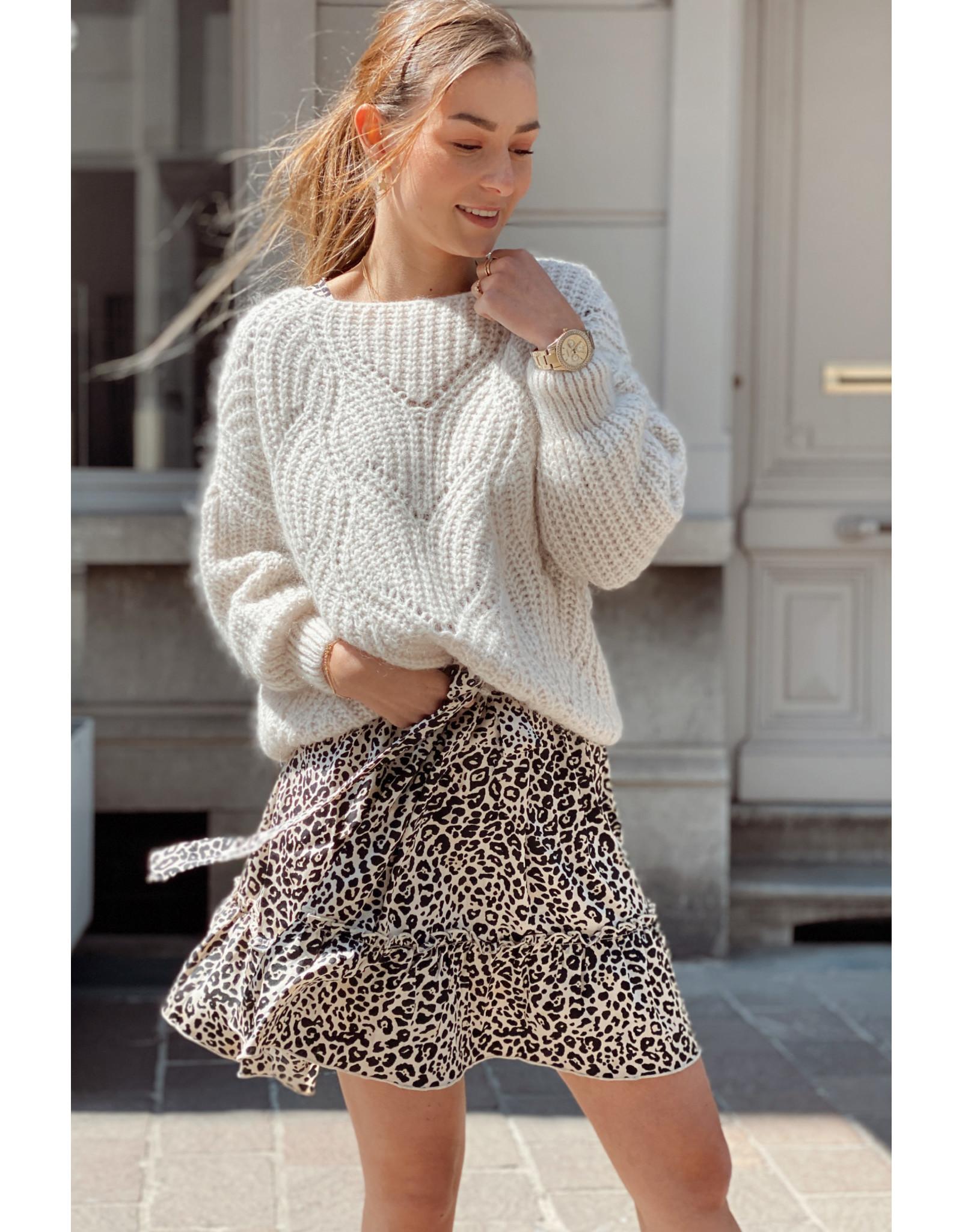 She's Milano x crochet beige