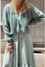Long lounge dress mint