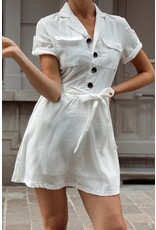 Cargo dress white