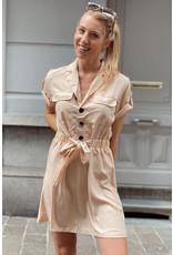 Cargo dress beige