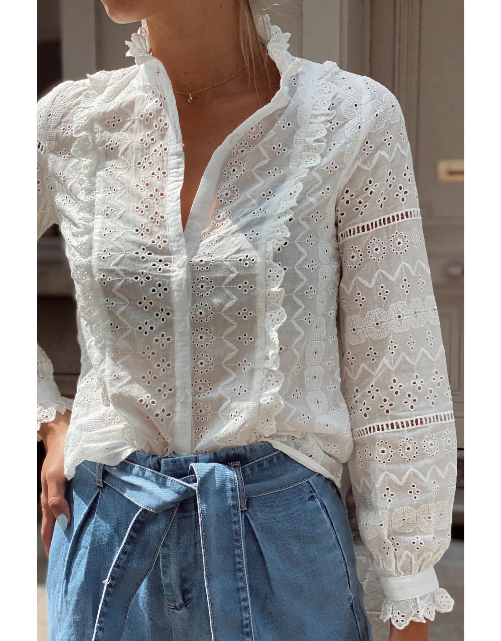 Lovie lace blouse