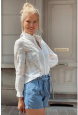 Jeans belt short