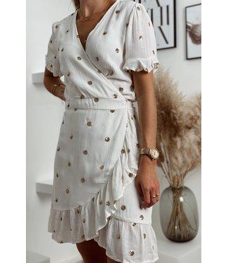 Eden short dress white