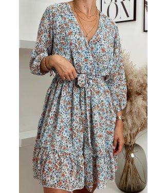 Flowerbom short dress