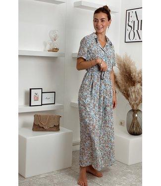 Flowerbom maxi dress
