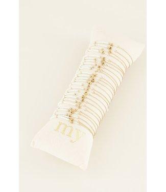 My Juwellery bracelet White