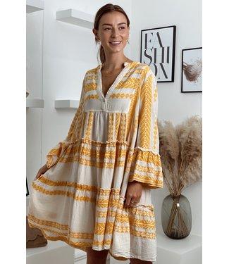 moment Desert boho yellow dress