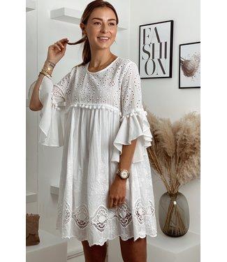 White dreamy dress