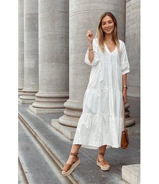Swan dress white