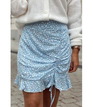 Strop skirt blue