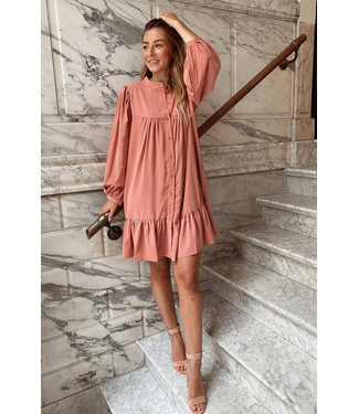 Belle dress creamy pink