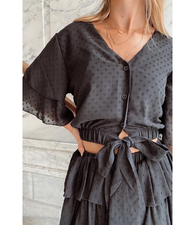 Elly blouse black