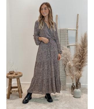 Feeling pretty dress taupe