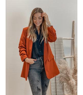 Classic blazer maroon