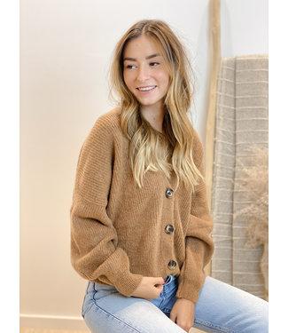 She's Milano x gilet camel