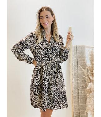 Ella  dress leopard