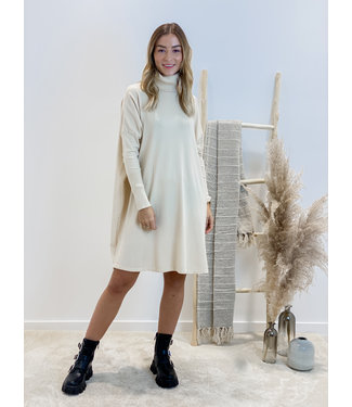 Sweater dress - nude