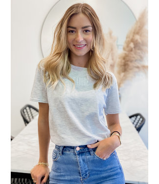 J'adore t-shirt grey