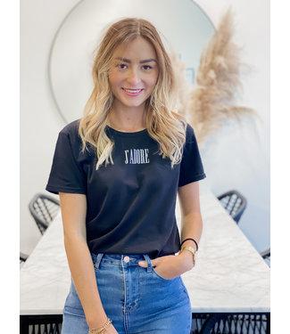 J'adore t-shirt black