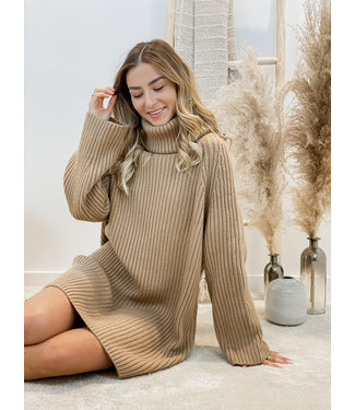 ribble dress camel