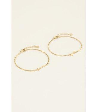 Matching bracelet forever-together