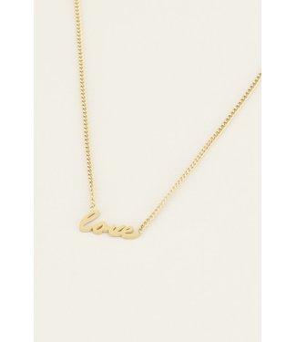 Letter ketting - love
