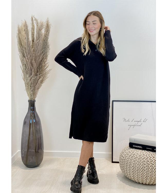 Yasmine MAXI dress - black