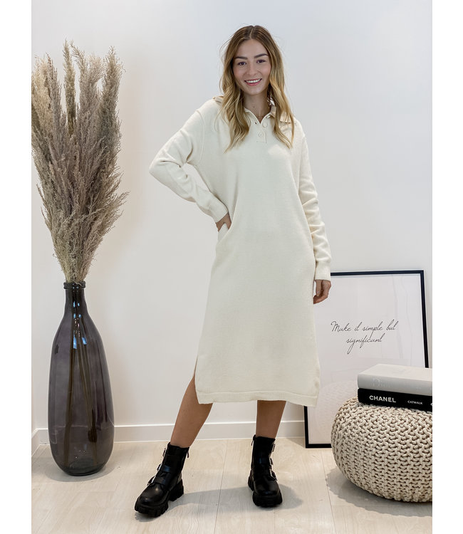 Yasmine MAXI dress - ecru