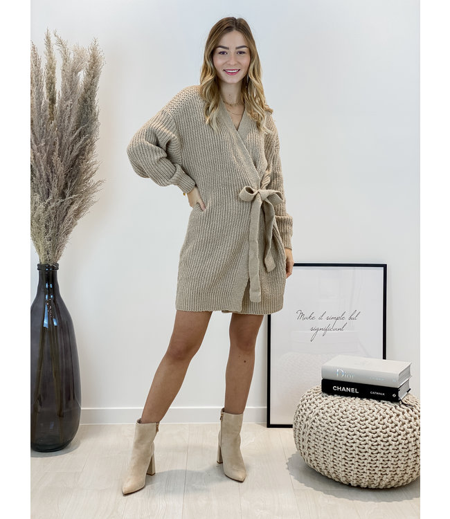 Wrap it up - taupe