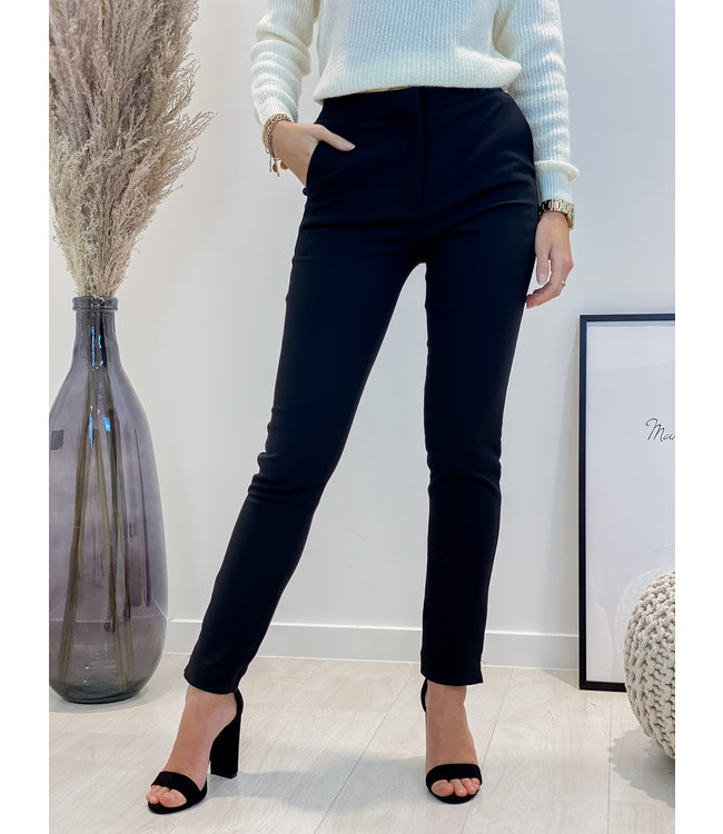 Classic trouser - black