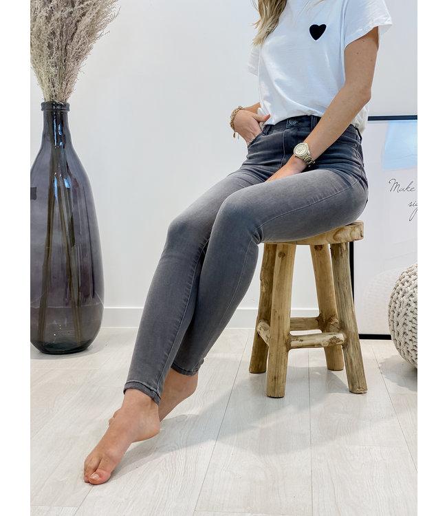 Classic High waist light grey