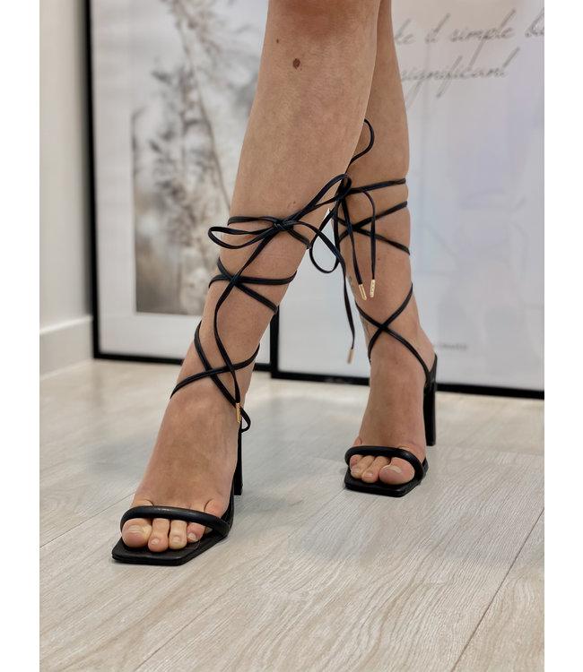 Anna heels - black